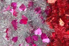 Decoración de la Navidad, accesorios del partido de fuentes del partido de Noche Vieja Foto de archivo libre de regalías