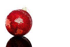 Decoración de la Navidad aislada Fotos de archivo