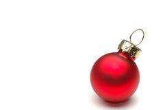 Decoración de la Navidad aislada Foto de archivo libre de regalías