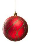 Decoración de la Navidad aislada Imágenes de archivo libres de regalías