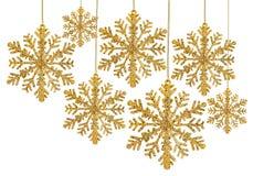 Decoración de la Navidad aislada en blanco Fotografía de archivo