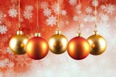 Decoración de la Navidad - chucherías de Navidad Imagen de archivo