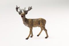 Decoración de la Navidad Ciervos Imagen de archivo libre de regalías