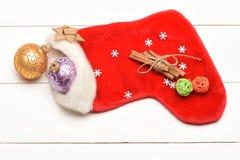 Decoración de la Navidad colorida o del Año Nuevo Foto de archivo