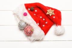Decoración de la Navidad colorida o del Año Nuevo Imagen de archivo