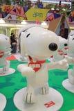 Decoración de la Navidad de Hong Kong Snoopy Imagen de archivo libre de regalías