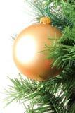 Decoración de la Navidad de la bola Fotos de archivo libres de regalías