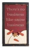 Decoración de la Navidad de la vendimia Imágenes de archivo libres de regalías