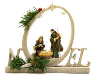 Decoración de la Navidad de Noel Fotografía de archivo libre de regalías
