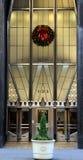 Decoración de la Navidad de Nueva York Fotografía de archivo
