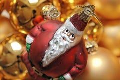 Decoración de la Navidad de Santa Imagenes de archivo