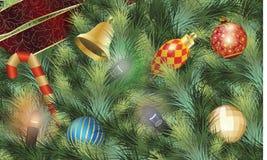 Decoración de la Navidad de Variouse Imágenes de archivo libres de regalías