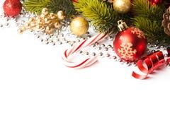 Decoración de la Navidad Decoraciones del día de fiesta Fotografía de archivo
