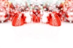 Decoración de la Navidad Decoraciones del día de fiesta en fondo del bokeh; C Fotos de archivo libres de regalías