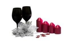 Decoración de la Navidad/del Año Nuevo Imagen de archivo libre de regalías