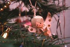 Decoración de la Navidad del vintage Foto de archivo libre de regalías