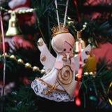 Decoración de la Navidad del vintage Fotos de archivo