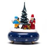 Decoración de la Navidad en blanco Foto de archivo libre de regalías