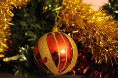 Decoración de la Navidad en casa en Bulgaria durante los días de fiesta de la Navidad hasta el Año Nuevo fotografía de archivo