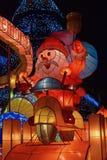 Decoración de la Navidad en el cuadrado Macao China de Senado Fotografía de archivo