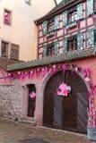 Decoración de la Navidad en Estrasburgo Foto de archivo
