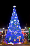 Decoración de la Navidad en los grandes almacenes de Promanade Fotografía de archivo