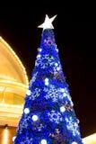 Decoración de la Navidad en los grandes almacenes de Promanade Imagenes de archivo
