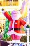 Decoración de la Navidad en los grandes almacenes de Promanade Imágenes de archivo libres de regalías