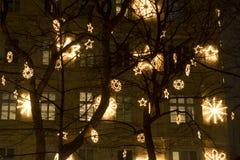 Decoración de la Navidad en Viena Fotos de archivo libres de regalías