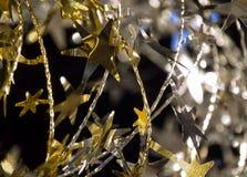 Decoración de la Navidad - estrellas Foto de archivo