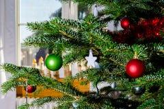 Decoración de la Navidad interior y del Año Nuevo Imagenes de archivo