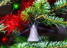 Decoración de la Navidad interior y del Año Nuevo Fotografía de archivo