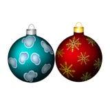 Decoración de la Navidad, ornamento Imagen de archivo