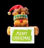 Decoración de la Navidad - oso imágenes de archivo libres de regalías