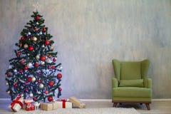 Decoración de la Navidad para la Navidad con los regalos Imagen de archivo libre de regalías