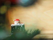 Decoración de la Navidad para el fondo Fotos de archivo