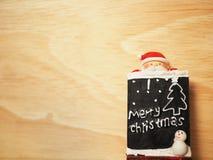 Decoración de la Navidad para el fondo Foto de archivo libre de regalías