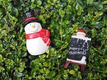 Decoración de la Navidad para el fondo Foto de archivo