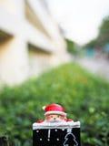 Decoración de la Navidad para el fondo Imagen de archivo libre de regalías