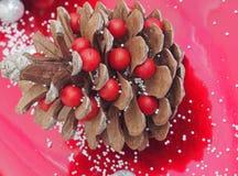 Decoración de la Navidad por el año 2017 Foto de archivo libre de regalías