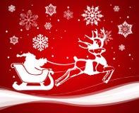 Decoración de la Navidad. Vector Imagen de archivo