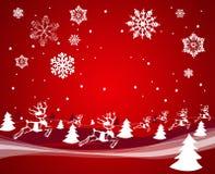 Decoración de la Navidad. Vector Foto de archivo libre de regalías