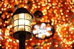Decoración de la Navidad y de la Feliz Año Nuevo Imagen de archivo