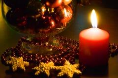 Decoración de la Navidad y del Año Nuevo Fotos de archivo libres de regalías