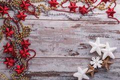 Decoración de la Navidad y del Año Nuevo Fotos de archivo