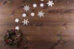 Decoración de la Navidad y del Año Nuevo Imagen de archivo