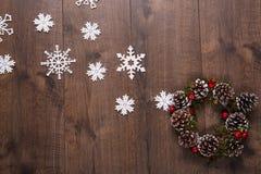 Decoración de la Navidad y del Año Nuevo Imagen de archivo libre de regalías