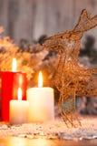 Decoración de la Navidad y del Año Nuevo Fotografía de archivo
