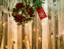 Decoración de la Navidad y del Año Nuevo para el día de fiesta Foto de archivo