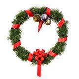 Decoración de la Navidad y del Año Nuevo, trayectoria de recortes incluida. Fotos de archivo libres de regalías